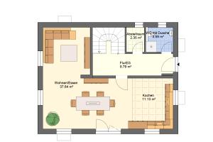 Hauseingang Variante 3