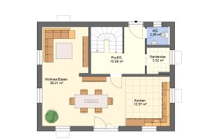 Hauseingang Variante 1