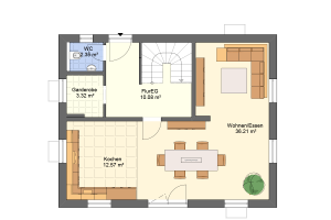 Hauseingang Variante 2