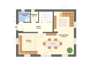 Hauseingang Variante 4