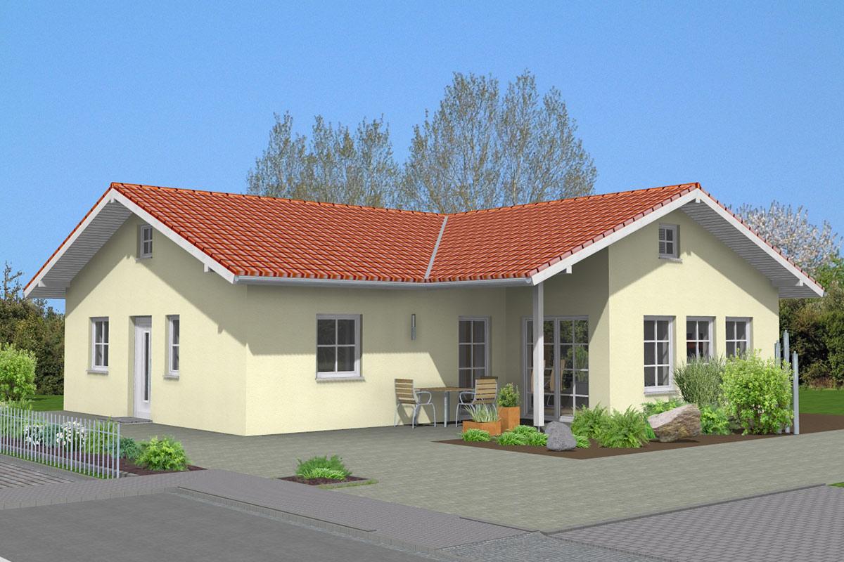 bungalow 02 bau ederer massiv und sicher bauen. Black Bedroom Furniture Sets. Home Design Ideas