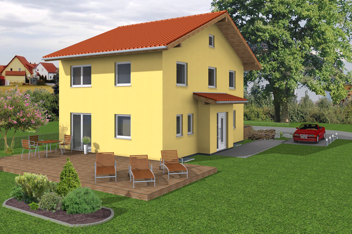doppelhaus 02 bau ederer massiv und sicher bauen. Black Bedroom Furniture Sets. Home Design Ideas