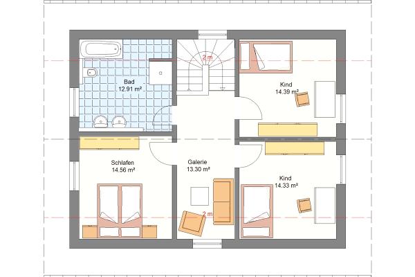 Aktionshaus Dachgeschoss Variante 2