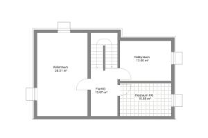 Doppelhaus 07 Kellergeschoss