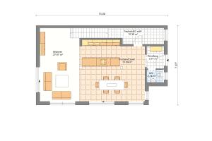 Doppelhaus 08 Erdgeschoss
