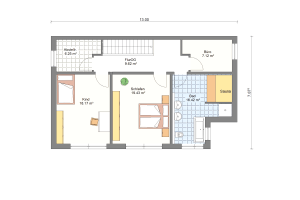 Doppelhaus 08 Obergeschoss