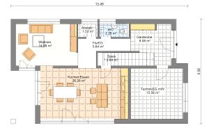 Einfamilienhaus 19 Erdgeschoss