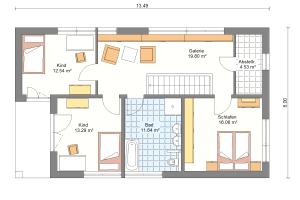 Einfamilienhaus 19 Obergeschoss