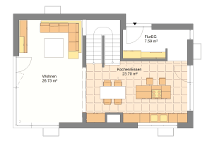 Einfamilienhaus 20 Erdgeschoss