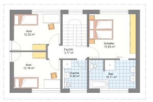 Einfamilienhaus 20 Obergeschoss