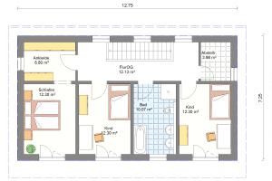 Einfamilienhaus 21 Obergeschoss
