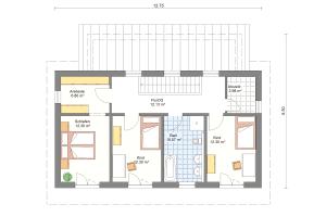 Einfamilienhaus 22 Obergeschoss