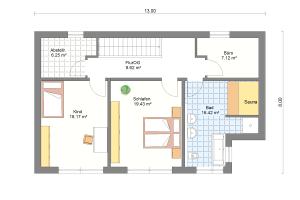 Einfamilienhaus 25 Obergeschoss