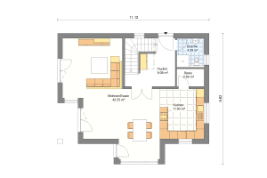 Einfamilienhaus 26 Erdgeschoss