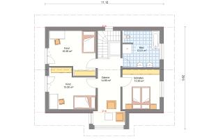 Einfamilienhaus 26 Obergeschoss