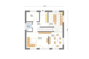 Einfamilienhaus 27 Erdgeschoss