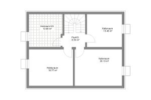 Einfamilienhaus 28 Kellergeschoss